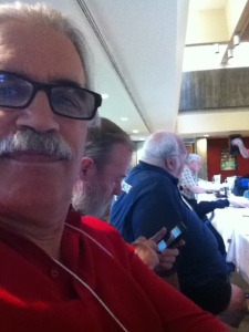 Charles, Mike, and Bill at the RASC Board Meeting at the Victoria GA