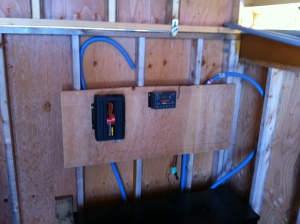 Battery charging system installed