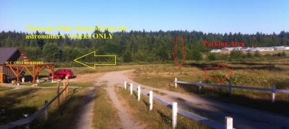 observatory parking