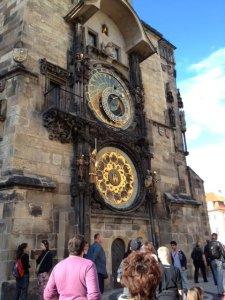Observatory clock in Prague