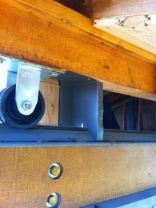 Roof rail flashing