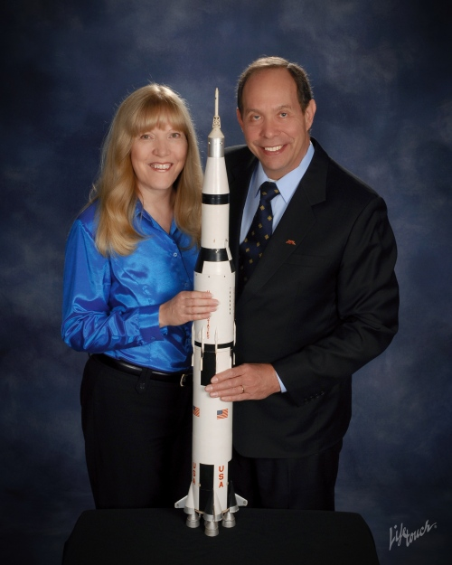 Linda and Tom with RocketJPG